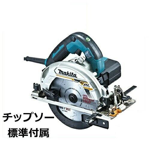 【makita】マキタ<BLモータ搭載>165mm電子マルノコ(厚切り込み66mm) HS6303(青)(チップソー付き)