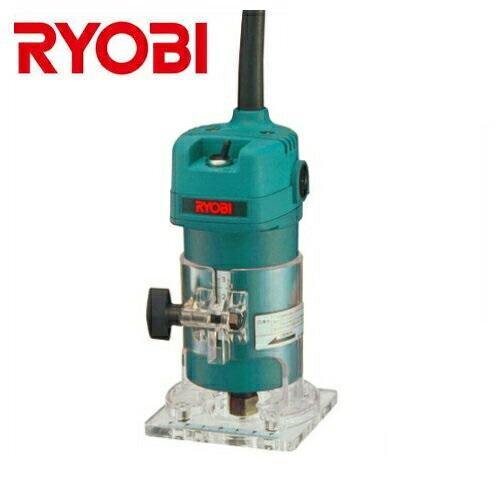 【RYOBI】リョービ販売<面取り、内面加工、溝切り等の木工作業に>トリマ TR-51(ビット軸径:6mm)(ビット付き)