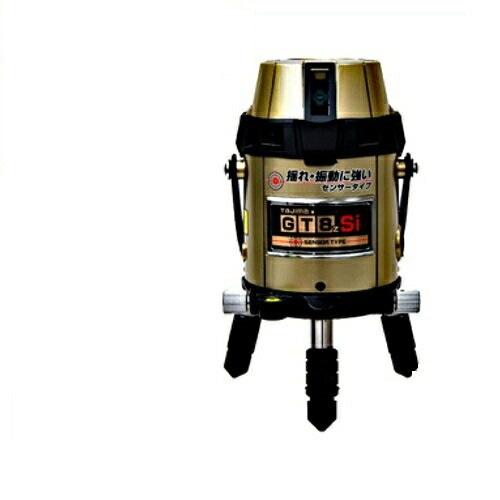 タジマツール フルライン電子整準高輝度レーザー墨出し器(センサー方式) GT8ZS-I(縦4方向矩・横全周水平ライン・地墨・鉛直十字)