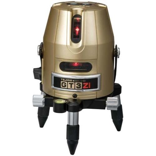 タジマツール 高輝度レーザー墨出器 GT3Z-I(縦2方向矩・横110°水平ライン・地墨・鉛直十字)