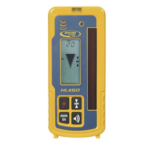 ニコン 回転レーザーレベル用受光器 HL450(デジタル表示)(クランプ付)