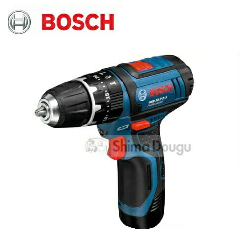 ボッシュ GSB10.8-2-LIN コードレス振動ドライバードリル 10.8V(2.0Ah) フルセット品