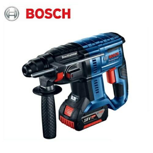 ボッシュ 20mmコードレスハンマードリル(SDSプラス)(3モード) GBH18V-20 18V(5.0Ah)フルセット品 (本体・バッテリA1850LIB×2個・充電器・ケース付)