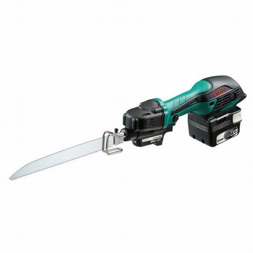 【RYOBI】リョービ販売 充電式小型レシプロソー(セーバーソー) BRJ-120L5(619602A) 14.4V(5.0Ah) フルセット品(本体・バッテリB-1450L・充電器・ケース付き)