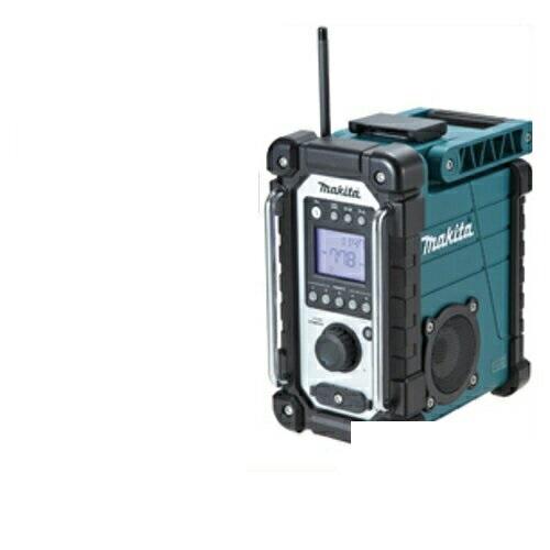 あす楽対応 マキタ 『ワイドFM(FM補完放送)』対応 充電式ラジオ MR107(青)
