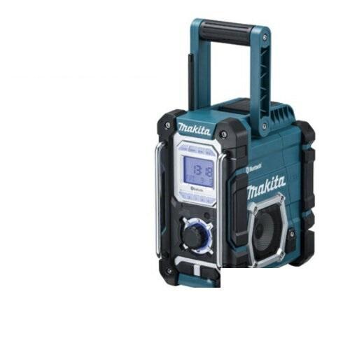 あす楽対応 マキタ 『ワイドFM(FM補完放送)』対応 【Bluetooth】搭載充電式ラジオ MR108(青)