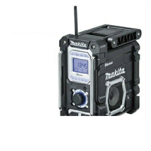 あす楽対応 マキタ 『ワイドFM(FM補完放送)』対応 【Bluetooth】搭載充電式ラジオ MR108B(黒)