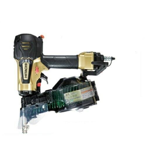 HiKoki(ハイコーキ/旧日立工機) 50mm高圧釘打機(パワー切替機構 搭載モデル) NV50HR(S)(メタリックゴールド)
