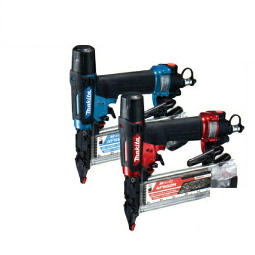 マキタ 高圧仕上釘打機(フィニッシュネイラ)(スマートタッチ機構搭載) AF552H(赤)(風量調整機能エアダスタ付)