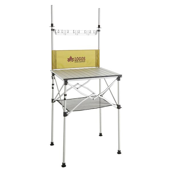 LOGOS(ロゴス) smart LOGOS kitchen クックテーブル(風防付き) 73186510 送料無料