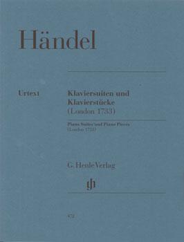 楽譜 GYP00005211 ヘンデル : クラヴィーアのための組曲と小品 HWV 434-442/原典版 / ヘンレ社(ヤマハ)