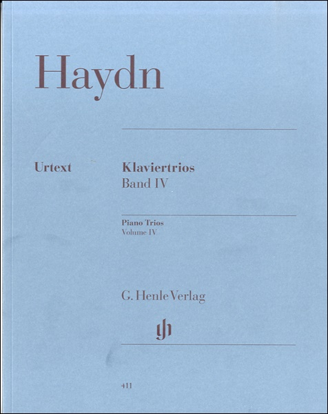 GYS00005352 ハイドンピアノ三重奏曲集第4巻HOB.XV/18-26(室内楽) / ヘンレ社(ヤマハ)