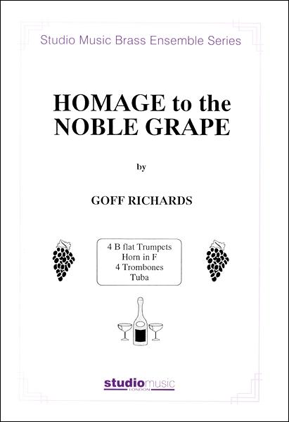 楽譜 GYW00077031高貴な葡萄酒への賛歌(4TRPHR4TR / スタジオ・ミュージック社