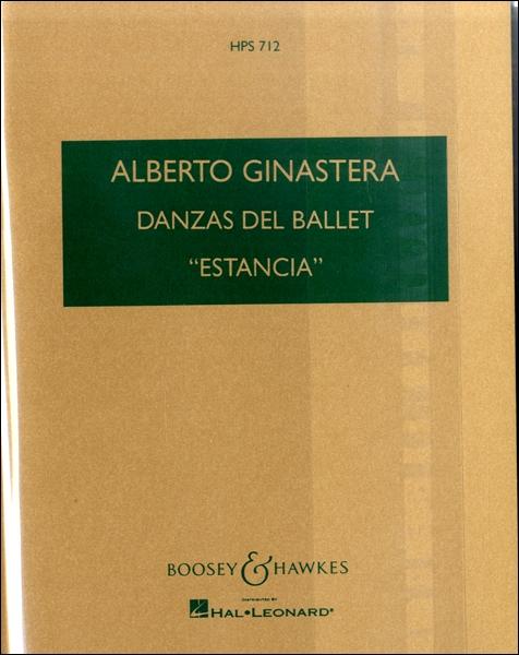 楽譜 GYA00001427 ヒナステーラ 「エスタンシア」より4つのダンス組曲 Op.8a / ブージー&ホークス社