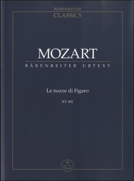 GYA00060065オペラ「フィガロの結婚」 KV 492/新モーツァルト全集版/Finscher編: スタディスコア / ベーレンライター社