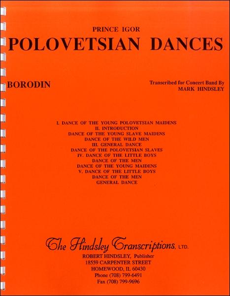 楽譜 輸入Polovetsian Dances/歌劇《イーゴリ公》より ダッタン人の踊り / ウィンズ・スコア