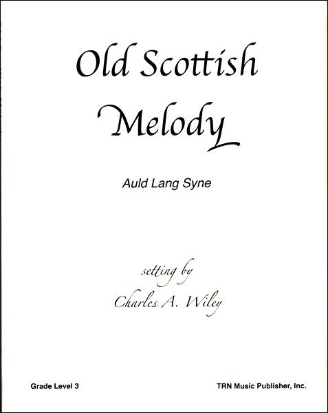 輸入Old Scottish Melody (Auld Lang Syne)/オールド・スコティッシュ・メロディー(蛍の光)CD付 / ウィンズ・スコア
