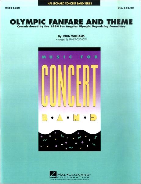輸入Olympic Fanfare and Theme/オリンピックファンファーレとテーマ(ロサンゼルス五輪)CD付 / ウィンズ・スコア