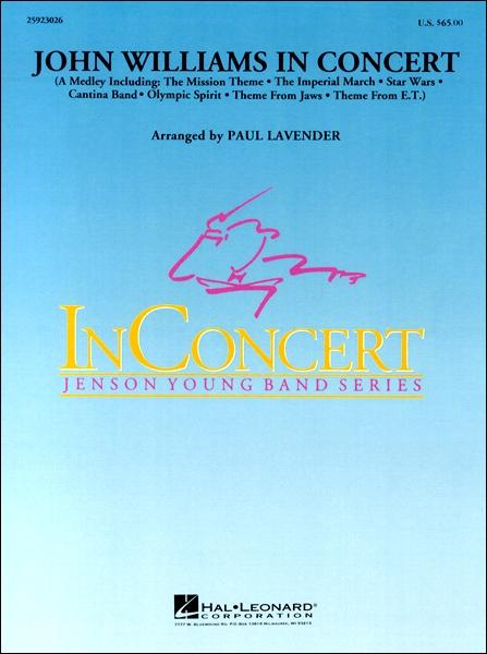 輸入John Williams in Concert/ジョン・ウィリアムズ・イン・コンサートCD付 / ウィンズ・スコア