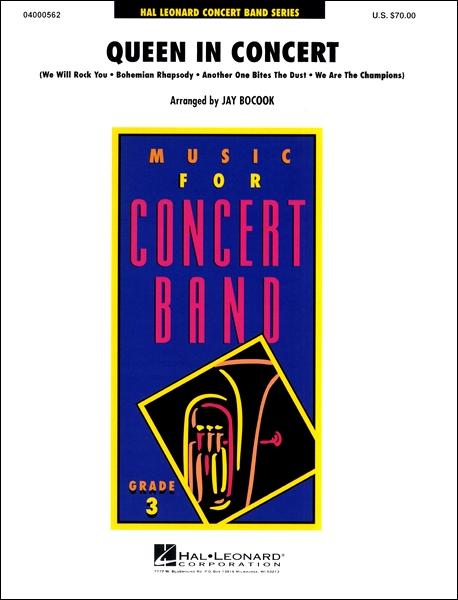 楽譜 輸入Queen in Concert/クイーン・イン・コンサート(J.ボコック編) / ウィンズ・スコア