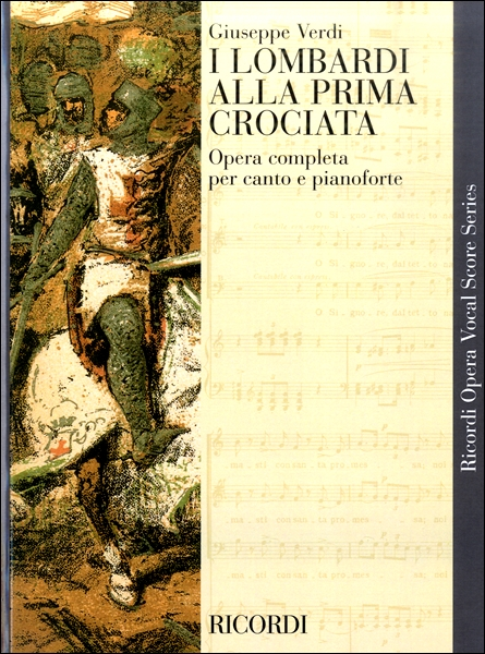 GYC00051266ヴェルディ オペラ「第一回十字軍のロンバルディア人」 / リコルディ社