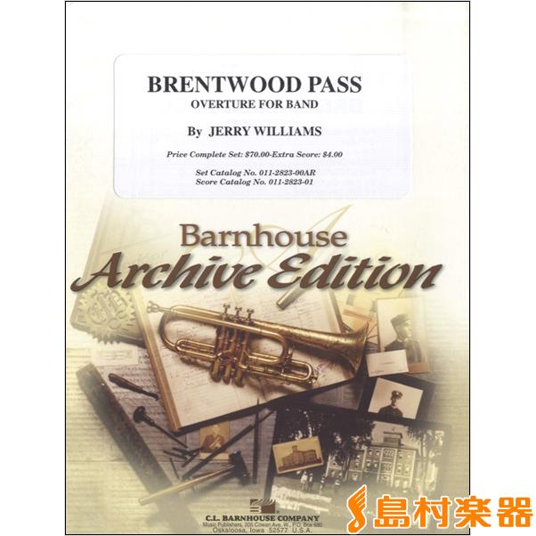 UN346 輸入 ブレントウッド・パス序曲 / ロケットミュージック(旧エイトカンパニィ)