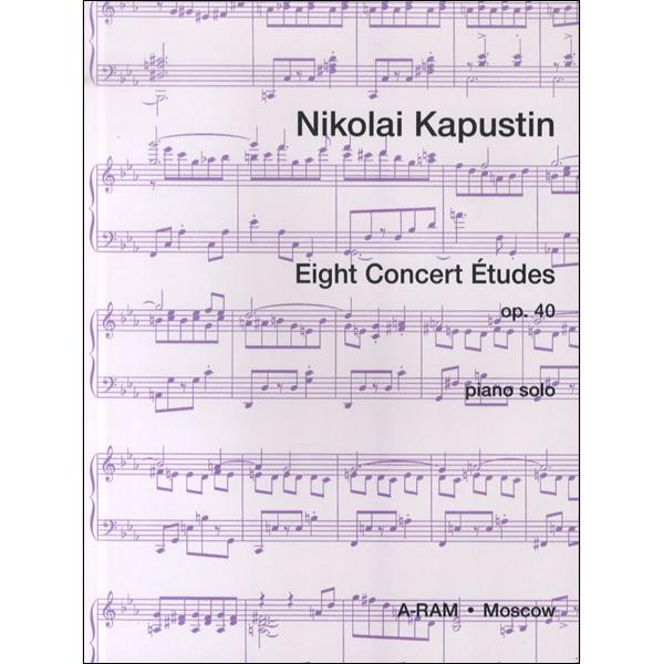 PNC3706 輸入 カプースチン/8つの演奏会用エチュード / ロケットミュージック(旧エイトカンパニィ)