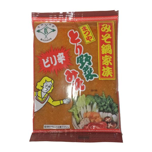 【とり野菜みそ4袋セット(レギュラー2&ピリ辛2)】 とり野菜みそ 味噌 お試し ピリ辛 まつや 200g 4袋セット メール便対応  とり野菜