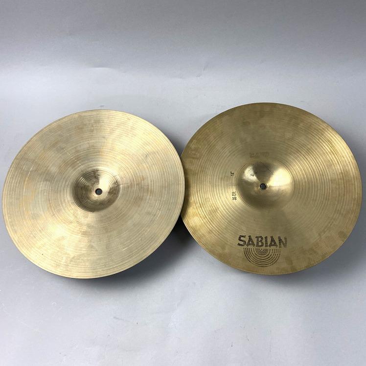 【中古】ハイハットシンバル SABIAN(セイビアン)/AA-14M-B Marching Band Cymbals ペア【熊本パルコ店】