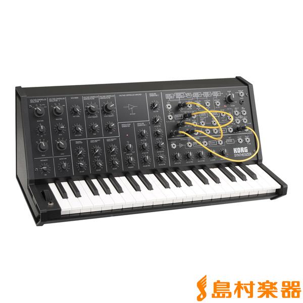 KORG MS-20 mini 37鍵盤 ブラック アナログシンセサイザー 37鍵盤【数量限定純正ケース付き MS-20 ブラック】【コルグ MS20 MINI】, ValueMart24:4cc5a4e1 --- sunward.msk.ru