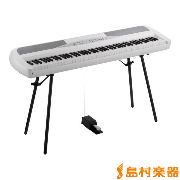 KORG SP-280 WH 電子ピアノ 88鍵盤 【コルグ SP280】【別売り延長保証対応プラン:E】
