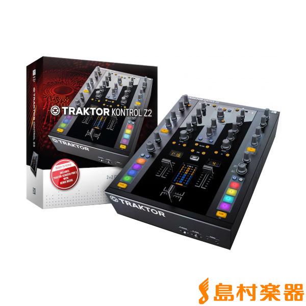 Native Instruments(NI) TRAKTOR Kontrol Z2 コントロールミキサー 【ネイティブインストゥルメンツ】
