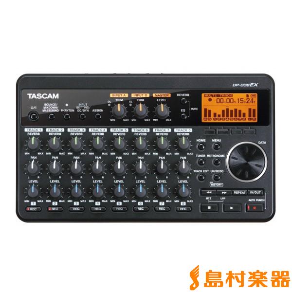 TASCAM DP-008EX デジタルポケットスタジオ マルチトラックレコーダー 【タスカム DP008EX】