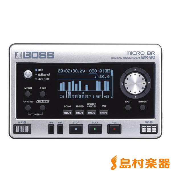 BOSS BR80 デジタルレコーダー 【ボス BR80】
