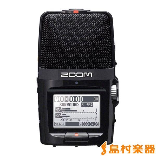 ZOOM H2n ハンディーレコーダー 【ズーム】