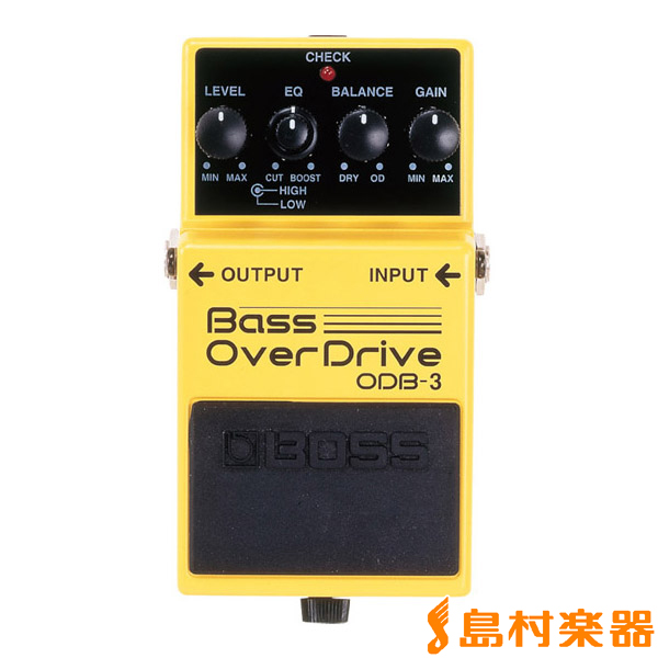 BOSS ODB-3 オーバードライブ ベース用 エフェクター 【ボス ODB3】