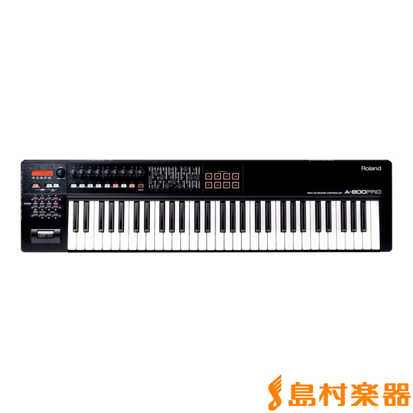 Roland【ローランド A-800PRO MIDIキーボード コントローラー 61鍵盤【ローランド A800PRO A800PRO】 61鍵盤】, サンライド:5d58301f --- ww.thecollagist.com