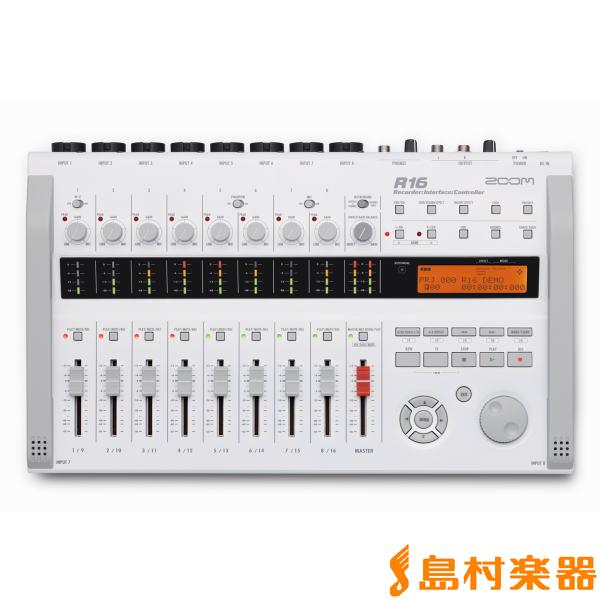ZOOM R16 レコーダー オーディオインターフェイス 【ズーム】
