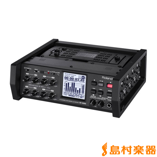 Roland R-88 8-CHANNEL RECORDER & MIXER 【ローランド R88】