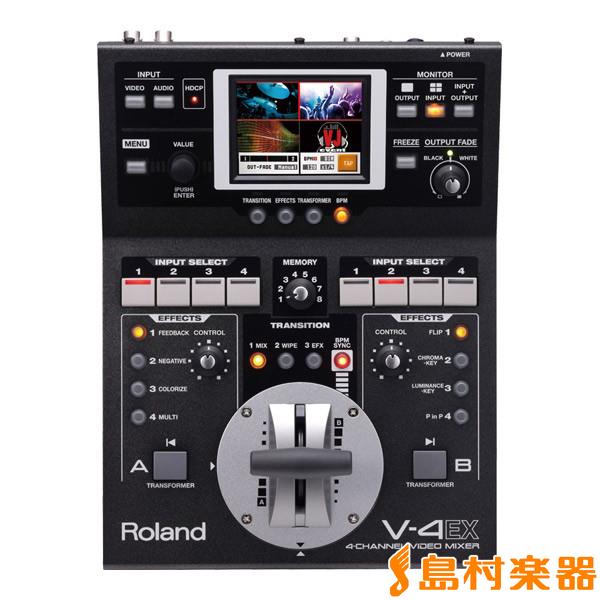 Roland V-4EX 4-Channel Video Mixer 【ローランド V4EX】