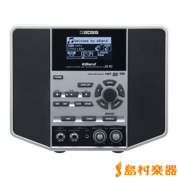 BOSS JS-10 ギターアンプ eBand エフェクタ内蔵多機能型 【ボス JS10】