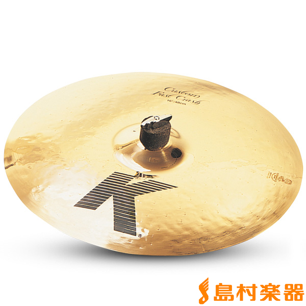 Zildjian K Custom 16インチ ファーストクラッシュ シンバル 【ジルジャン】