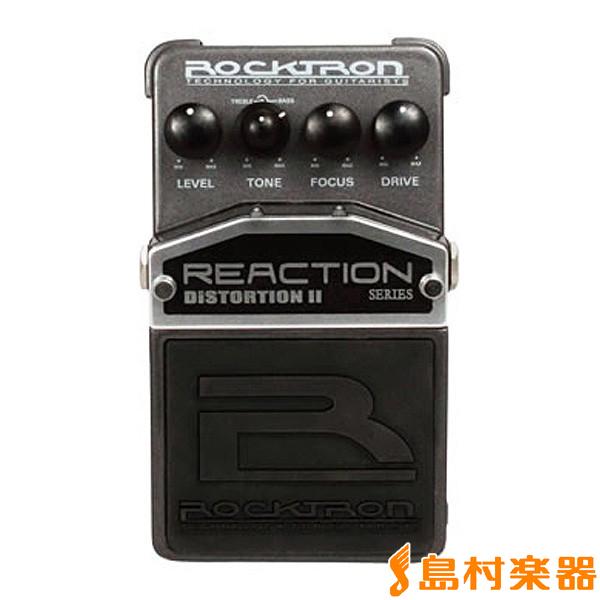 ROCKTRON RT1921/REACTION DISTORTION II エフェクター 【ディストーション】 【ロックトロン】