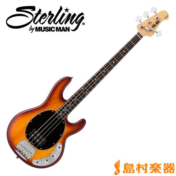 STERLING by Musicman RAY4 HBS スティングレイ ベース 【S.U.B. SERIES】 【スターリン】