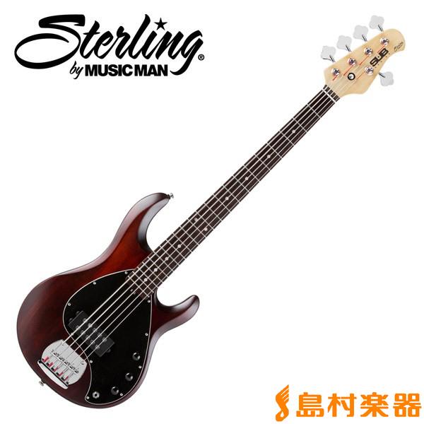 STERLING by Musicman RAY5 WS 5弦ベース スティングレイ・タイプ 【S.U.B. SERIES】 【スターリン】