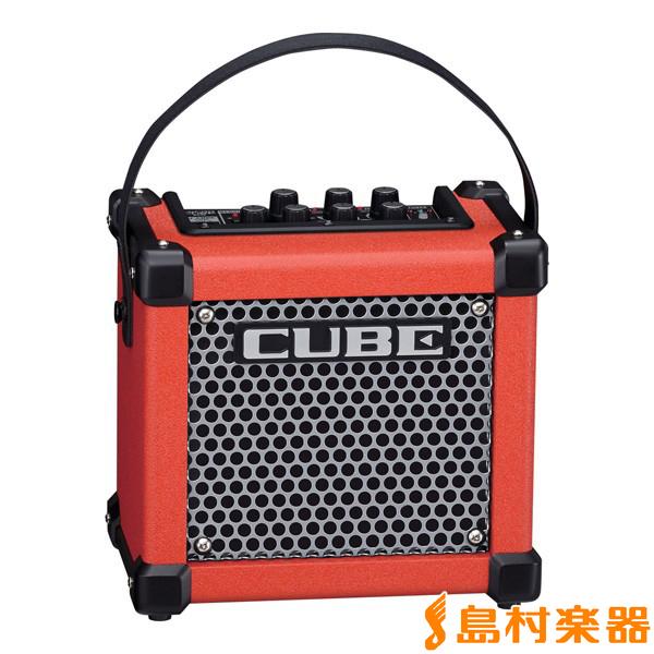 Roland MICRO CUBE GX RED 3W ギターアンプ 【エフェクター内蔵】【電池駆動】 【ローランド】