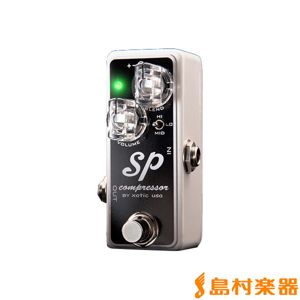 XOTIC SP Compressor コンパクトエフェクター 【コンプレッサー】 【エキゾチック】