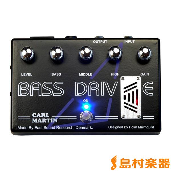 Carl Martin Bass Drive ベース用オーバードライブ 【カールマーチン】