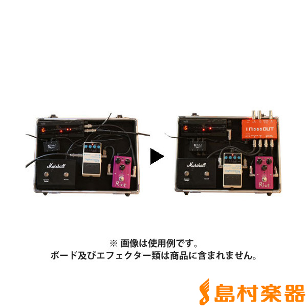 CAJ (Custom Audio Japan) In and Out バッファー搭載ジャンクションボックス 【カスタムオーディオジャパン】