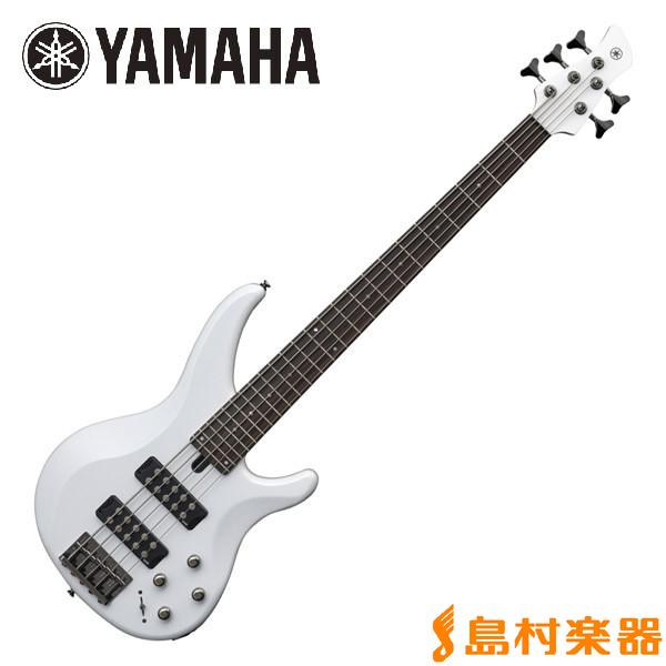 YAMAHA TRBX305 White 5弦ベース 【ヤマハ】